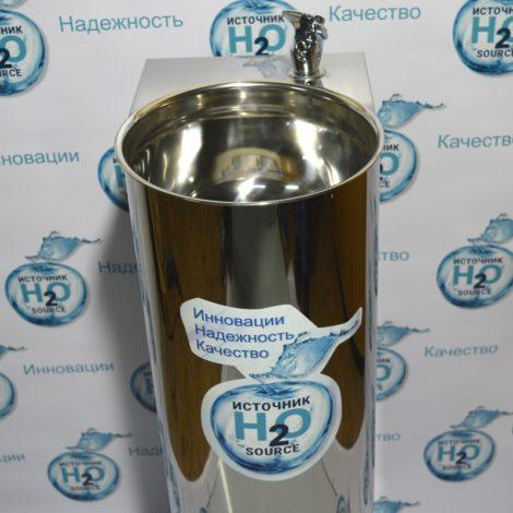 Питьевой фонтанчик Н2О-СТАРТ (кран-поилка, кнопка на корпусе)